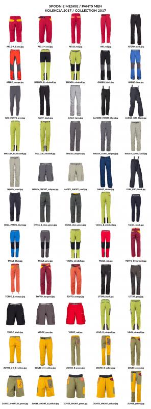 Spodnie męskie 2017