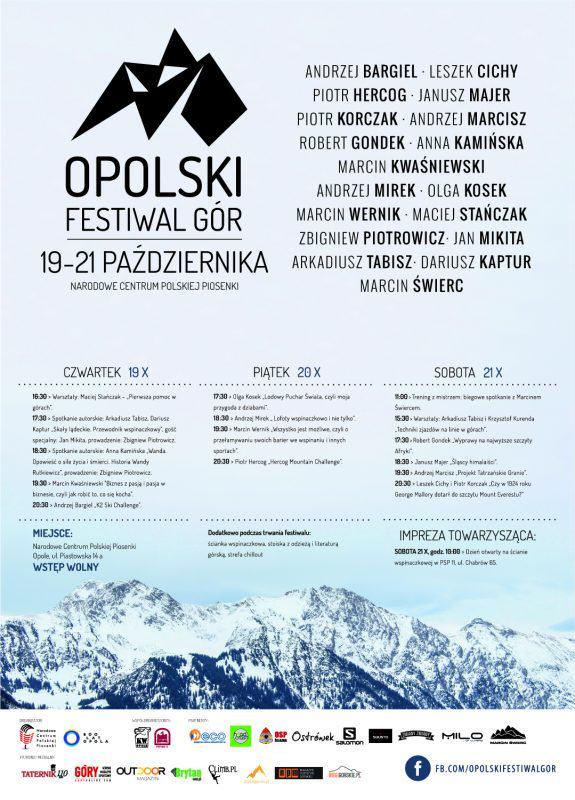VI OPOLSKI FESTIWAL GÓR, 19-21.10.2017
